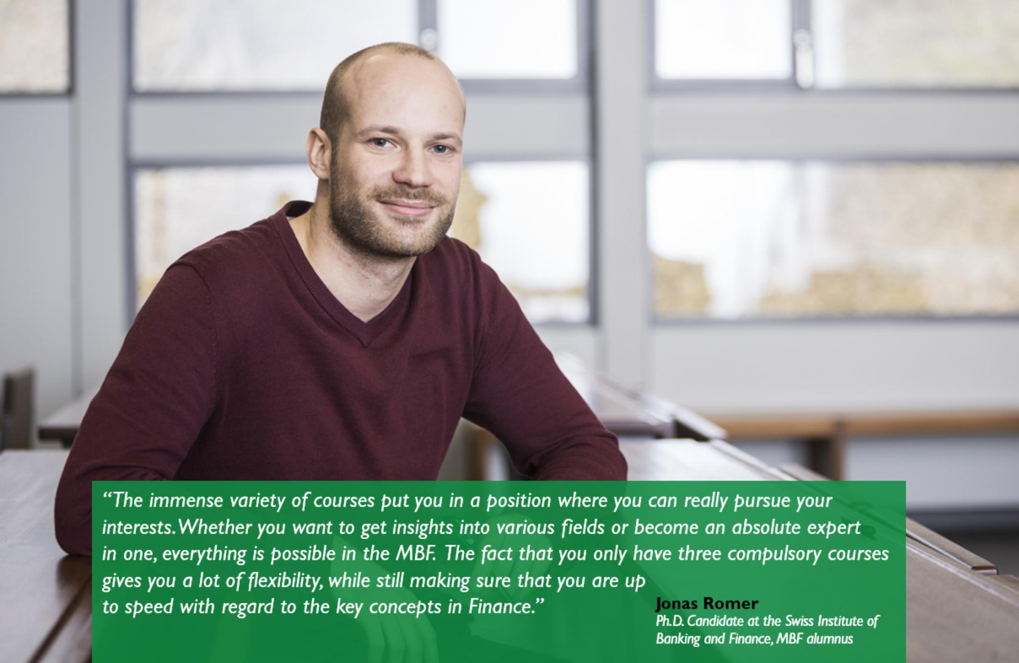 Student Testimonal Jonas Curriculum